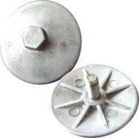 P612-108-157 612.108.157 Plate Outer Diaphragm Assembly Sandpiper