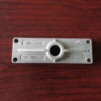 04-3185-01 Muffler Plate Aluminum Fit Wilden Pumps Parts